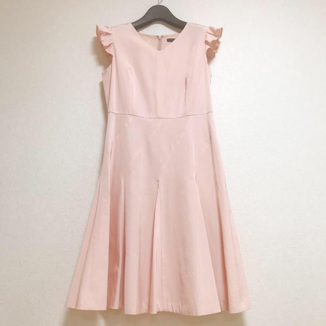 TOCCA(トッカ)の極美品✨TOCCA PEONY ドレス ピンク 業者クリーニング済 レディースのワンピース(ひざ丈ワンピース)の商品写真