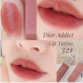 Christian Dior - ディオール リップタトゥー321 ナチュラルローズ