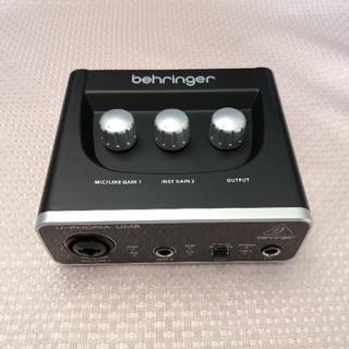 Behringer UM2 オーディオインターフェイス(オーディオインターフェイス)