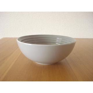 ルクルーゼ(LE CREUSET)のルクルーゼ シリアルボール 6in ミストグレー■新品 シリアルボウル 耐熱(食器)