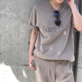 DEUXIEME CLASSE - 美品 Deuxieme Classe プリント Tシャツ