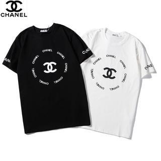 CHANEL - 新品[2枚8000円送料込み]CHANELシャネルTシャツ半袖男女兼用
