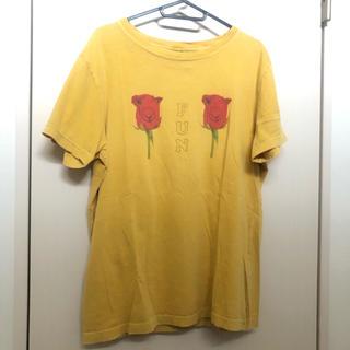 キャンディーストリッパー(Candy Stripper)のcandy stripper Tシャツ イエロー 黄色 マスタード(Tシャツ(半袖/袖なし))