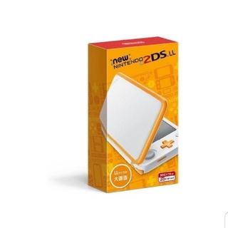 任天堂 - 新品未開封保証付き送料無料 Newニンテンドー2DS LL ホワイト×オレンジ