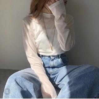 ロンハーマン(Ron Herman)のAulii sheer shirt シアーtee♥️(シャツ/ブラウス(長袖/七分))