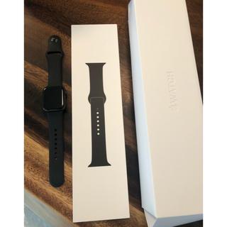 アップルウォッチ(Apple Watch)のApple Watch 40 シリコンケース付(腕時計(デジタル))