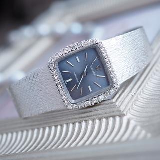 ROLEX - 美品✨ロレックス K18 金無垢 ダイヤベゼル 時計✨オメガ カルティエ