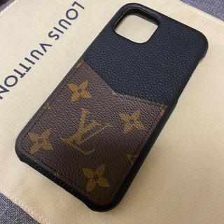 LOUIS VUITTON - ルイヴィトン モノグラム バンパー iPhone11Proケース  ブランド