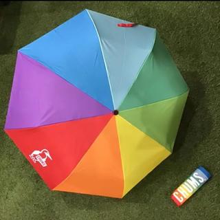 CHUMS - 【新品】雨の日もハイテンションなチャムスの折り畳み傘