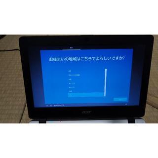 エイサー(Acer)のノートパソコン Acer AspireE11 E3-112-F14C-S(ノートPC)
