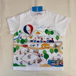 familiar - 100㎝ ファミちゃん Tシャツ 70周年
