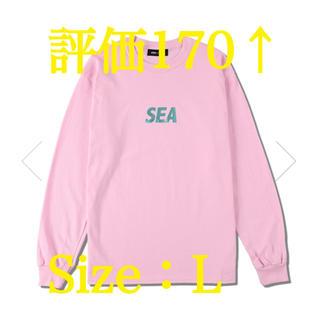 SEA(FOIL) L/S T-SHIRT / PINK (CS-208)