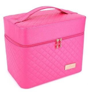 メイクボックス  大容量 ピンク(メイクボックス)