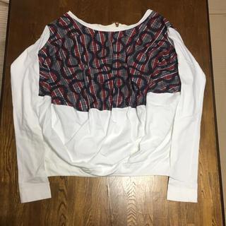 ヴィヴィアンウエストウッド(Vivienne Westwood)のVivienne Westwood ANGLOMANIA  Squiggle(Tシャツ(長袖/七分))