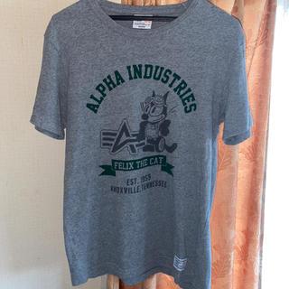 アルファ(alpha)のALPHAアルファTシャツ(Tシャツ/カットソー(半袖/袖なし))