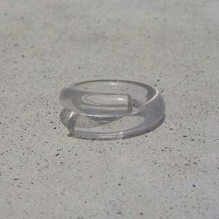 Kastane - Acryl clear ring No.376