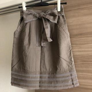 ジャスグリッティー(JUSGLITTY)のJUSGLITTY♥リネンスカート(ひざ丈スカート)