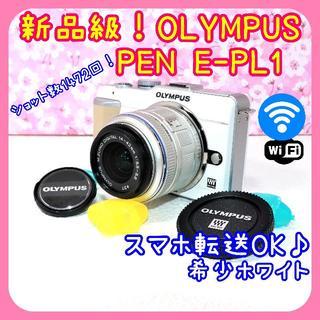オリンパス(OLYMPUS)のショット数1472回!OLYMPUS PEN E-PL1  Wi-FiSD付(デジタル一眼)