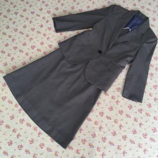 アオキ(AOKI)のレミュー スカートスーツ M W66 OL サマー 夏 洗濯 DMW 涼しい(スーツ)