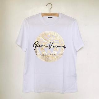 VERSACE - 【新品未使用】Versace ヴェルサーチ ベルサーチ Tシャツ ロゴ M レア