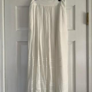 Isabel Marant - イザベルマラントエトワール ホワイト ロングスカート 36 未使用品