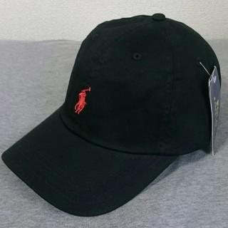 POLO RALPH LAUREN - 新品タグ付き ポロ・ラルフローレン 帽子 ブラック/レッドポニー 高品質