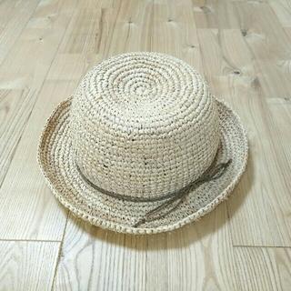 LAGOM - ●LAGOM●ラフィア麦わら帽子54●美品●
