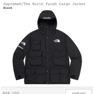 Supreme - Supreme North Face cargo jacket S ブラック