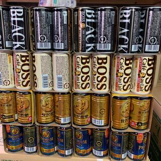 BOSS - 送料無料缶コーヒーBOSSブラック無糖カフェラテ贅沢微糖プレミアムボス96缶