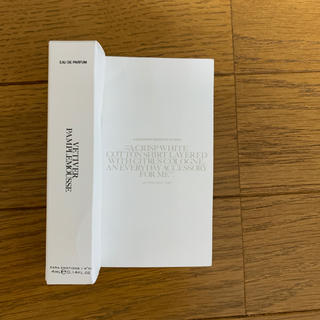 ザラ(ZARA)のZARA コラボ香水 VETIVER PAMPLEMOUSSE 4ml(香水(女性用))