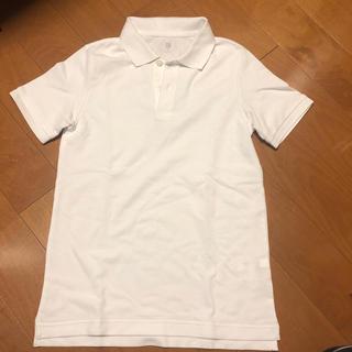 ユニクロ(UNIQLO)のユニクロ ポロシャツ 白150cm(Tシャツ/カットソー)