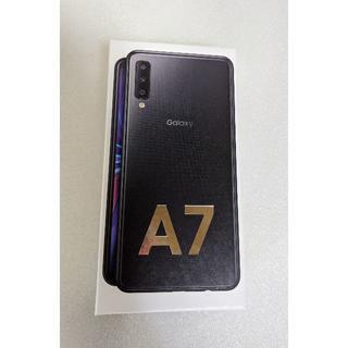 SAMSUNG - Galaxy A7 黒 SIMフリー