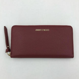 ジミーチュウ(JIMMY CHOO)の【在庫1点のみ】JIMMY CHOO ジミーチュウ 長財布 レッド(財布)