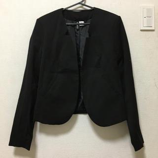 H&M - ノーカラージャケット