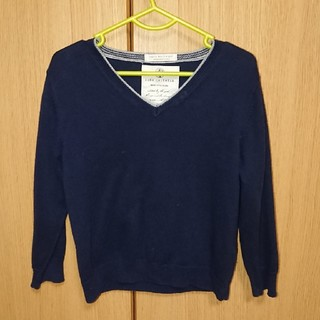 ザラ(ZARA)のZARA 綿セーター 3~4y(104cm)(ニット)