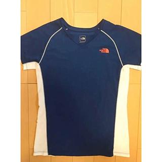 ザノースフェイス(THE NORTH FACE)の美品 ノースフェイス レディース スポーツ Tシャツ (Tシャツ(半袖/袖なし))
