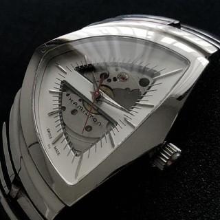 ベンチュラ(VENTURA)のハミルトン ベンチュラ 自動巻き スケルトン H245150  CAL2824-(腕時計(アナログ))