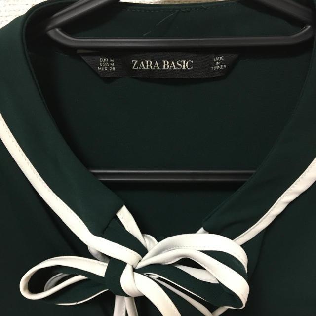 ZARA(ザラ)のブラウス レディースのトップス(シャツ/ブラウス(長袖/七分))の商品写真