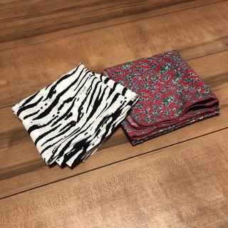 カスタネ(Kastane)の値下げ中❗️❗️ラティス スカーフ2点セット(バンダナ/スカーフ)