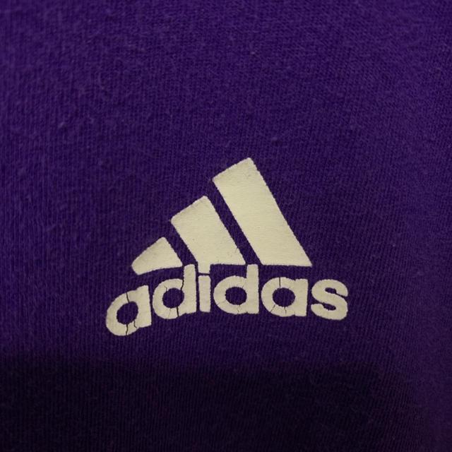 adidas(アディダス)のレア 古着 90s アディダス 半袖 Tシャツ 胸元ロゴ ビッグシルエット メンズのトップス(Tシャツ/カットソー(半袖/袖なし))の商品写真