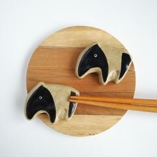 バク 箸置きセット(キッチン小物)