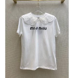 miumiu - 人気品Miumiu ミュウミュウ レディース Tシャツ 少女風 超美品
