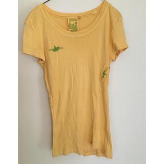 アズールバイマウジー(AZUL by moussy)の古着風のおしゃれデザインのTシャツ(Tシャツ(半袖/袖なし))
