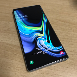 Galaxy - Galaxy Note9 Ocean Blue 128GB SIMフリー