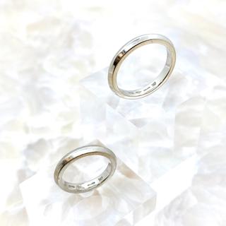 ブルガリ(BVLGARI)のBVLGARI ブルガリ フェディ 結婚指輪 Pt950(リング(指輪))