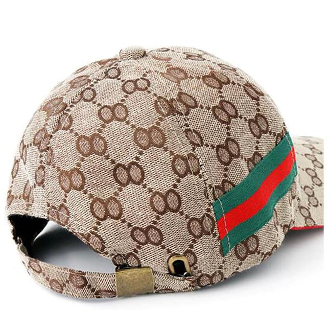 [男女兼用 キャップ]メンズ レディース ベージュ(GUCCI(グッチ)好きに) メンズの帽子(キャップ)の商品写真