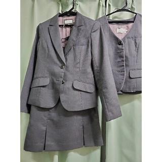 enjoi - 【クリーニング済】かわいいスカートスーツ 事務服制服 上下セット enjoy
