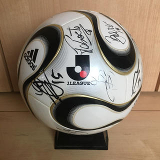 adidas - サインボール 白黒 チームガイスト  公式球 5号球 レア サッカーボール