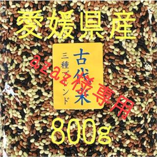 azaz様専用 古代米3種ブレンド愛媛県産 800g(米/穀物)