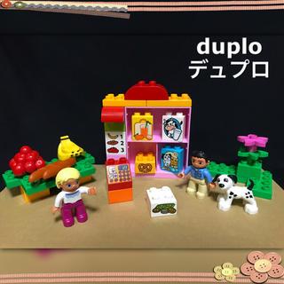 Lego - デュプロ お店 スーパー 食べ物 まちのお店屋さん